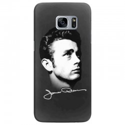 james dean with signature v.2 Samsung Galaxy S7 Edge | Artistshot