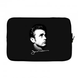 james dean with signature v.2 Laptop sleeve | Artistshot