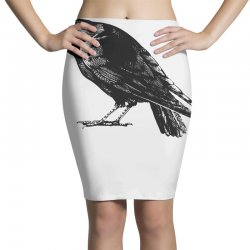 The Crow Pencil Skirts | Artistshot