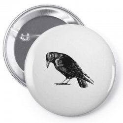 The Crow Pin-back button | Artistshot