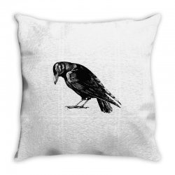 The Crow Throw Pillow | Artistshot
