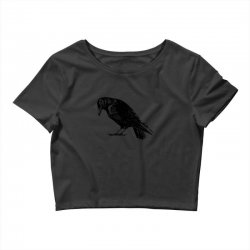 The Crow Crop Top | Artistshot