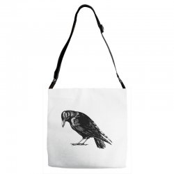 The Crow Adjustable Strap Totes | Artistshot