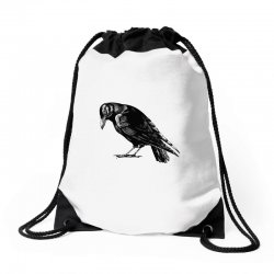 The Crow Drawstring Bags | Artistshot