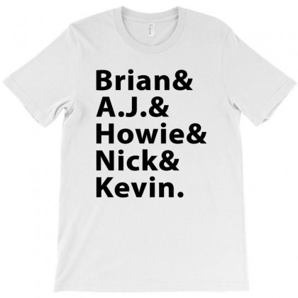 Brian A.j. Howie Nick Kevin Black T-shirt Designed By Akin