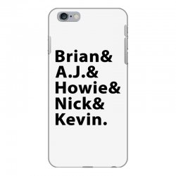 brian a.j. howie nick kevin black iPhone 6 Plus/6s Plus Case | Artistshot