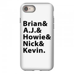 brian a.j. howie nick kevin black iPhone 8 Case | Artistshot