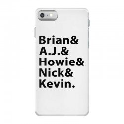 brian a.j. howie nick kevin black iPhone 7 Case | Artistshot