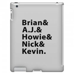 brian a.j. howie nick kevin black iPad 3 and 4 Case | Artistshot