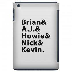 brian a.j. howie nick kevin black iPad Mini Case | Artistshot