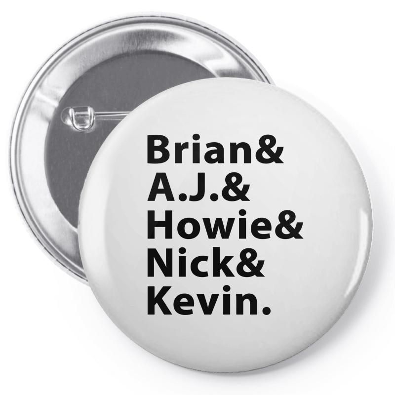 Brian A.j. Howie Nick Kevin Black Pin-back Button | Artistshot