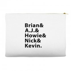 brian a.j. howie nick kevin black Accessory Pouches | Artistshot
