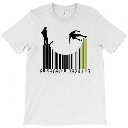 Barcode Skaters T-shirt Designed By Igun