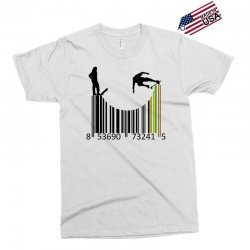 barcode skaters Exclusive T-shirt | Artistshot