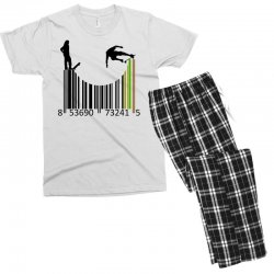 barcode skaters Men's T-shirt Pajama Set | Artistshot