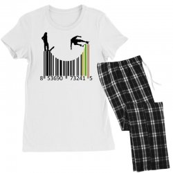 barcode skaters Women's Pajamas Set | Artistshot