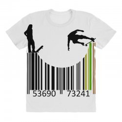barcode skaters All Over Women's T-shirt | Artistshot