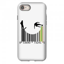 barcode skaters iPhone 8 | Artistshot