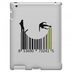 barcode skaters iPad 3 and 4 Case | Artistshot