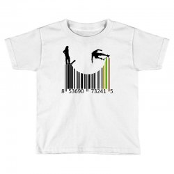 barcode skaters Toddler T-shirt | Artistshot