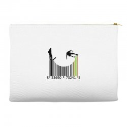 barcode skaters Accessory Pouches | Artistshot