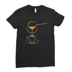 coffee Ladies Fitted T-Shirt | Artistshot