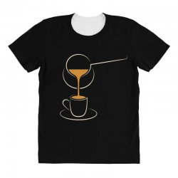 coffee All Over Women's T-shirt | Artistshot