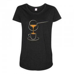 coffee Maternity Scoop Neck T-shirt | Artistshot