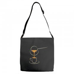 coffee Adjustable Strap Totes | Artistshot
