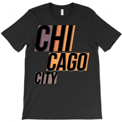 Chicago City T-shirt Designed By Igun