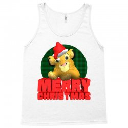 merry christmas simba Tank Top | Artistshot