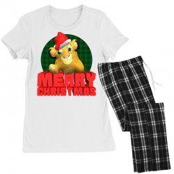 merry christmas simba Women's Pajamas Set | Artistshot