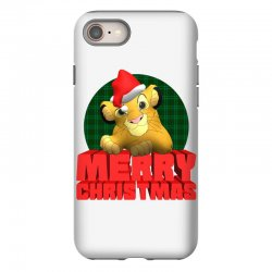 merry christmas simba iPhone 8 | Artistshot