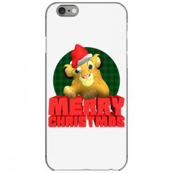 merry christmas simba iPhone 6/6s Case | Artistshot