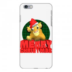 merry christmas simba iPhone 6 Plus/6s Plus Case | Artistshot