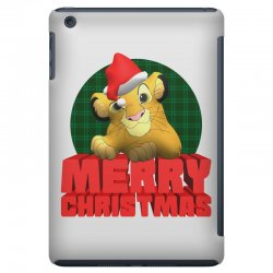 merry christmas simba iPad Mini | Artistshot