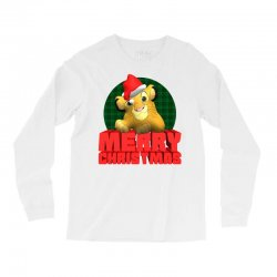 merry christmas simba Long Sleeve Shirts | Artistshot