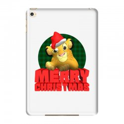 merry christmas simba iPad Mini 4 | Artistshot