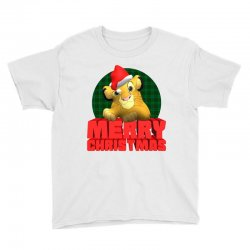 merry christmas simba Youth Tee | Artistshot