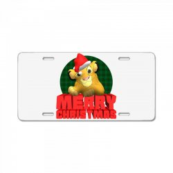 merry christmas simba License Plate | Artistshot