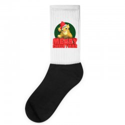 merry christmas simba Socks | Artistshot