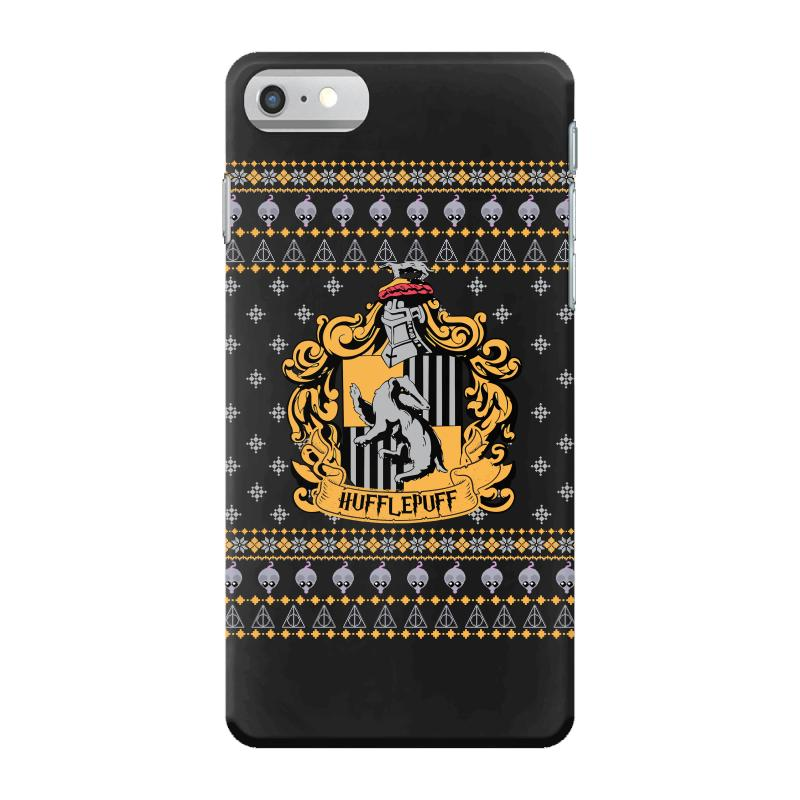 huge selection of 6ecce 7aaf7 Harry Potter Hufflepuff Ugly Christmas Iphone 7 Case. By Artistshot