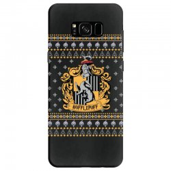 harry potter hufflepuff ugly christmas Samsung Galaxy S8 Case | Artistshot