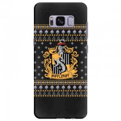 harry potter hufflepuff ugly christmas Samsung Galaxy S8 Plus Case | Artistshot