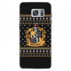 harry potter hufflepuff ugly christmas Samsung Galaxy S7 Case | Artistshot