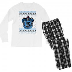 harry potter ravenclaw Men's Long Sleeve Pajama Set | Artistshot