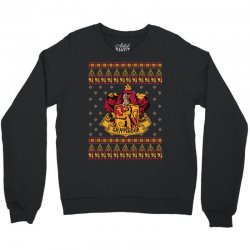 harry potter gryfindor ugly christmas Crewneck Sweatshirt | Artistshot