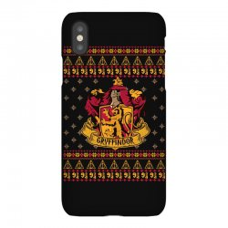 harry potter gryfindor ugly christmas iPhoneX Case | Artistshot