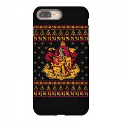 harry potter gryfindor ugly christmas iPhone 8 Plus Case | Artistshot