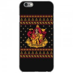 harry potter gryfindor ugly christmas iPhone 6/6s Case | Artistshot